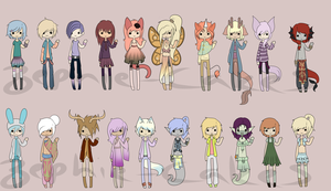 Palette Adopts by CoffeeCake-Adopts