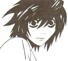 L from DeathNote-request by IWantDumplings