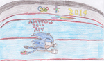 (CE) Sonic at the 2014 Sochi Olympic Winter Games. by FiretrontheHedgehog