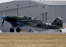 Ilyushin IL-2 Sturmovik Take Off 2 by shelbs2