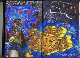 BLACKBOOK  ARTWORK8 by GILone