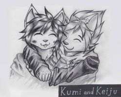 Kumi and Keiju by R-Star97