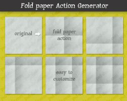 Folding Action Generator by PsdDude