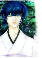 A Portrait of A Hyuuga by Beauw0lf