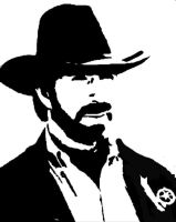 chuck norris by Kronjeremi