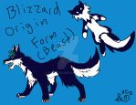 Blizzard Beast reference by hayyifas