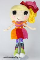 LALALOOPSY April Sunsplash Crochet Amigurumi Doll by Npantz22