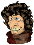 Fourth Doctor - Tom Baker by 94cape69