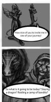 Skyrim comic: Deadly Cuddle Part1 by E-H23