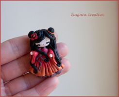geisha by zingaracreativa