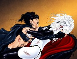 Lady Death 17 Wraparound Cover by MDiPascale