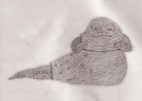 Jabba by benjaminography