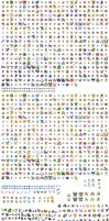 Pokemon Sprites for download by wolfdemon30