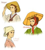 Normal Hats For Commonplace Women by Glimja