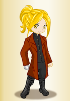 Steam Punk Edward Elric by peppermix14