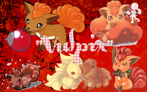 Vulpix Wallpaper by Margo-Edit1