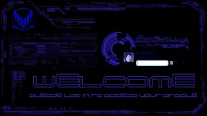 Mass Effect logon screen by sumerkhan