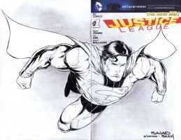Supes sketchcover by adelsocorona