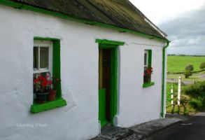 Irish Cottage by fluffyvolkswagen