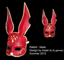 Rabbit Mask by Azael047
