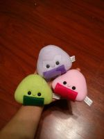 flavored riceball plushies by Love-Who
