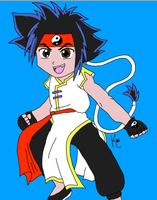 Ray from Beyblade by RainbowKatsu