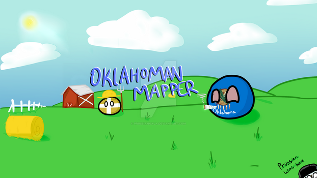 Youtube Banner for Oklahoman Mapper by PrussianGala