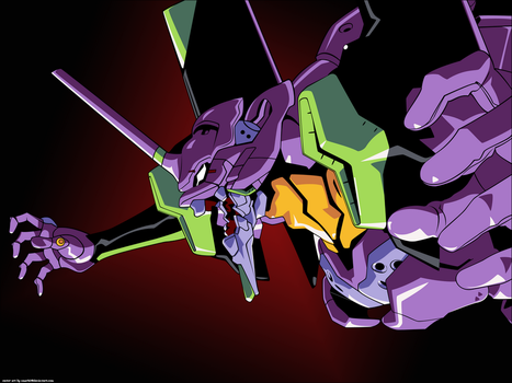 Evangelion Unit 01 by cmark0