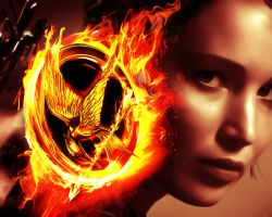 The Hunger Games. Katniss by StalkerAE
