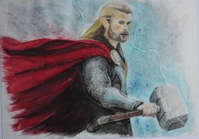 Thor by piratebutl23