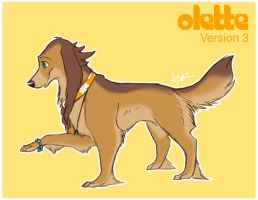 Olette Dog -Final Concept- by Nyaasu