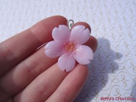 Cherry Blossom Charm by BeppasCreations