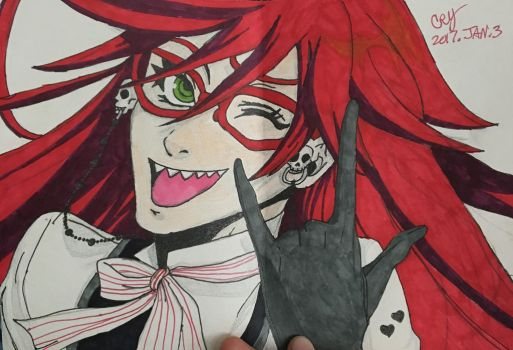 ::Grell as a gift:: by infinity003