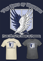 Attack on Titan Scouting Legion T Shirt by Enlightenup23
