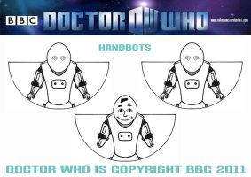 Doctor Who - Handbots by mikedaws