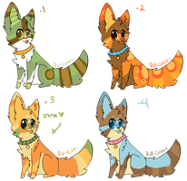 adoptables!!! by pup-cakes