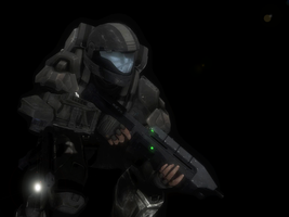 ODST Alone HDR by Innomadic