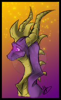 Spyro by Dark-Spine-Dragon