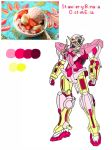Gundam Exia Strawberry-Banana Ice Cream Custom by ImaginationDiva
