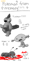 Pokemon from Memory!! by jsunny