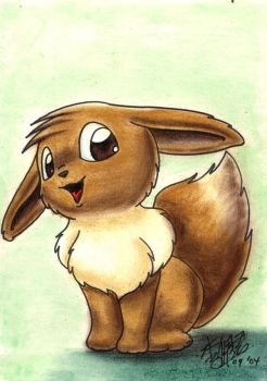 POKEMON - EEVEE by Exhaltorio