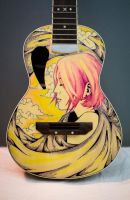 Ukulele Sharpie Art by ZeonFlux