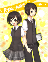 AT :Ryou Twins by Hannun