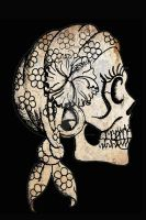 Gypsy Skull by ShayneOtheDead
