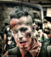 HDR Zombie Walk Sweden 8 by Robgrafix