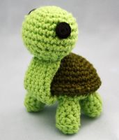 Crochet Turle 2 by Walkonred