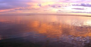 Sunset pano 1 by chealse