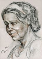 Head drawing by hakepe