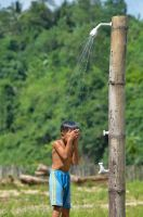 Bamboo Shower by ragesaavs