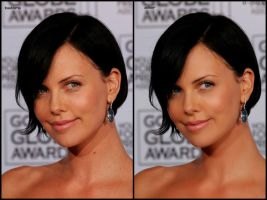 Charlize Theron 1 by ArtSlash13